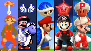 Evolution of Rare Power-Ups in Mario Games (1988-2021)