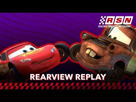Rearview Replay: McQueen and Mater's Handshake | Racing Sports Network by Disney•Pixar Cars