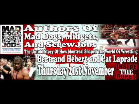 Authors of Mad Dogs, Midgets & Screwjobs Interview - Inside The Ropes Nov 21st 2013
