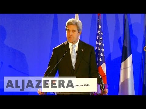 Aleppo onslaught: Kerry urges Russia to end conflict