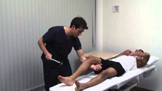 Macleod's examination of the motor system of the lower limbs