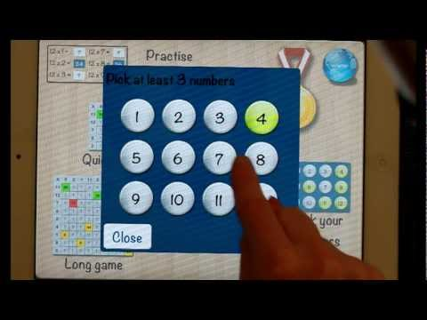 Times Tables 1.02 for iPad