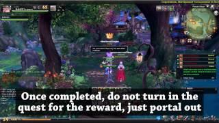 Farming valuable chest indefinitely (drop 65 yellow armor) - Aura Kingdom