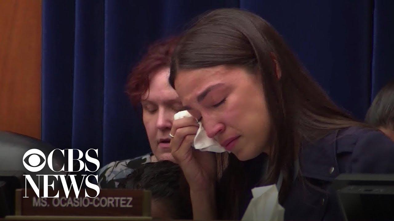 Alexandria Ocasio-Cortez explains why she shed tears on the ...