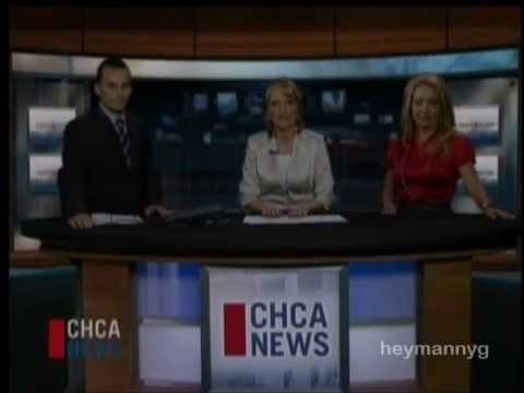 CHCA-TV Red Deer, AB - Final Newscast - August 28, 2009