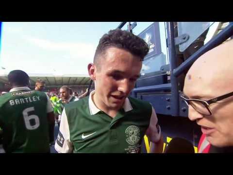 John Mcginn Interview Scottish Cup Final Sportscene May 21st 2016