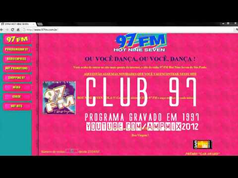 (1997) CLUB 97 RADIO SHOW @ 97 FM HOT NINE SEVEN - A RADIO DANCE