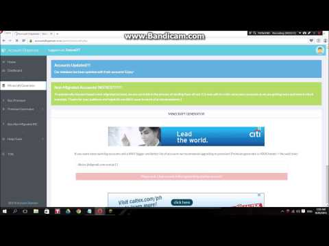 How to get free Minecraft accounts 2015 Working 100% (No Survey)