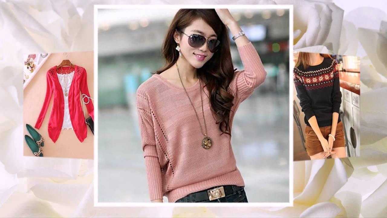 5#Женские свитера - YouTube