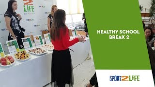 Sport2Life Healthy School Break in Elementary School Skalice in Split, Croatia
