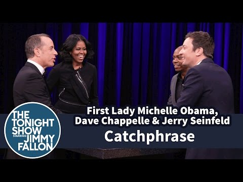 Thumbnail: Catchphrase with First Lady Michelle Obama, Dave Chappelle and Jerry Seinfeld