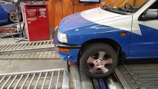 Electric Vehicle 1993 Daihatsu Charade on Dyno