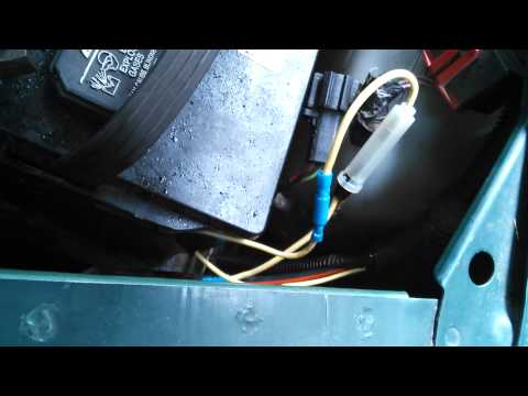 Bad fuseable link on 1994 Ford Econoline E150 van
