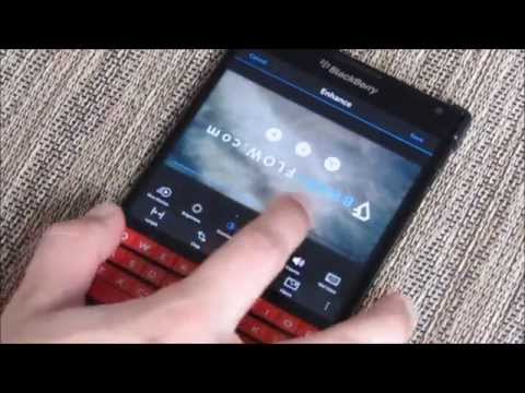 Native Video Editing on BlackBerry 10