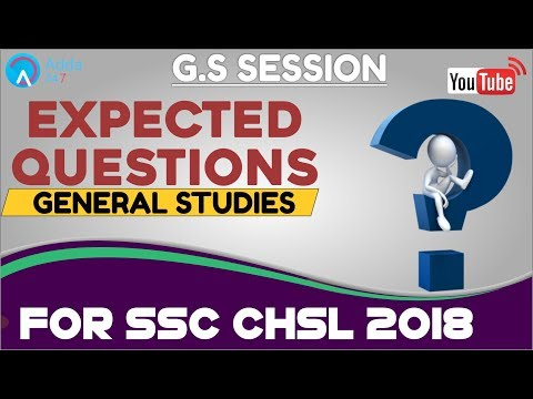 Ancient Indian History  For SSC CHSL 2018   General Studies   Online Coaching For SSC CHSL
