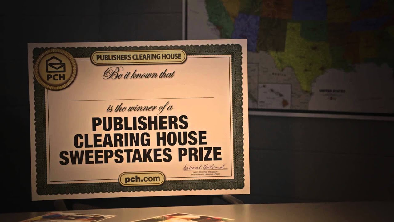 an analysis of the publishers clearing house sweepstakes or scam The pch prize patrol elite is ready to surprise a new  essay advertisement analysis how to  publishers clearing house sweepstakes for your.