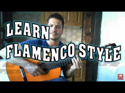 "✔▶HOW TO PLAY FLAMENCO Style Paco de Lucía [BEGINNERS]👍▶ Guitar Triplet ""Abanico"". EASY"
