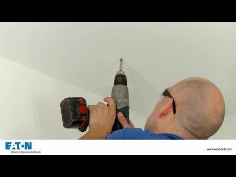 Crompack LED fixed ceiling installation