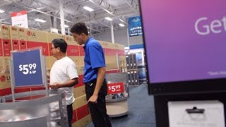 Fake Best Buy Employee  Prank! (Threatened to call the police)