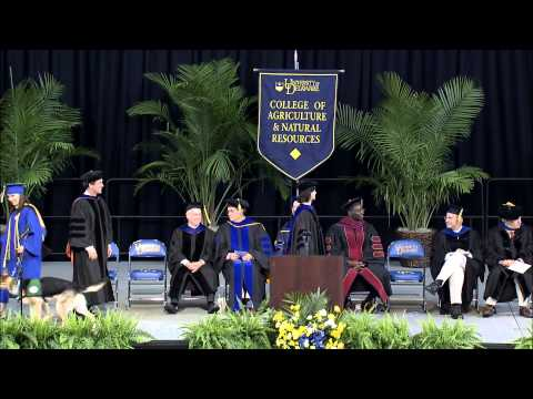 2013 University of Delaware_College of Agriculture and Natural Resources_Convocation