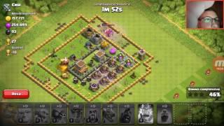 Abbiamo sbloccato il re barbaro!!! Clash of clans