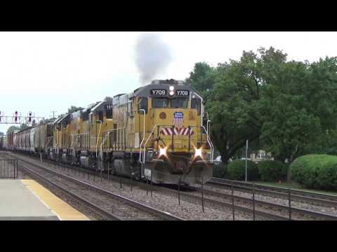Railfanning Elmhurst 9/23/16