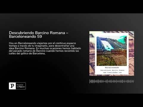 Descubriendo Barcino Romana – Barceloneando 59