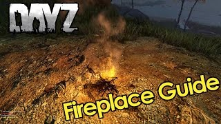 How To: DayZ 0.60 Fireplace tutorial without Matches Guide light Fire in DayZ Standalone gameplay
