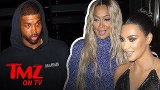 Kim Kardashian's Awkward Dinner Run In With Tristan Thompson | TMZ TV