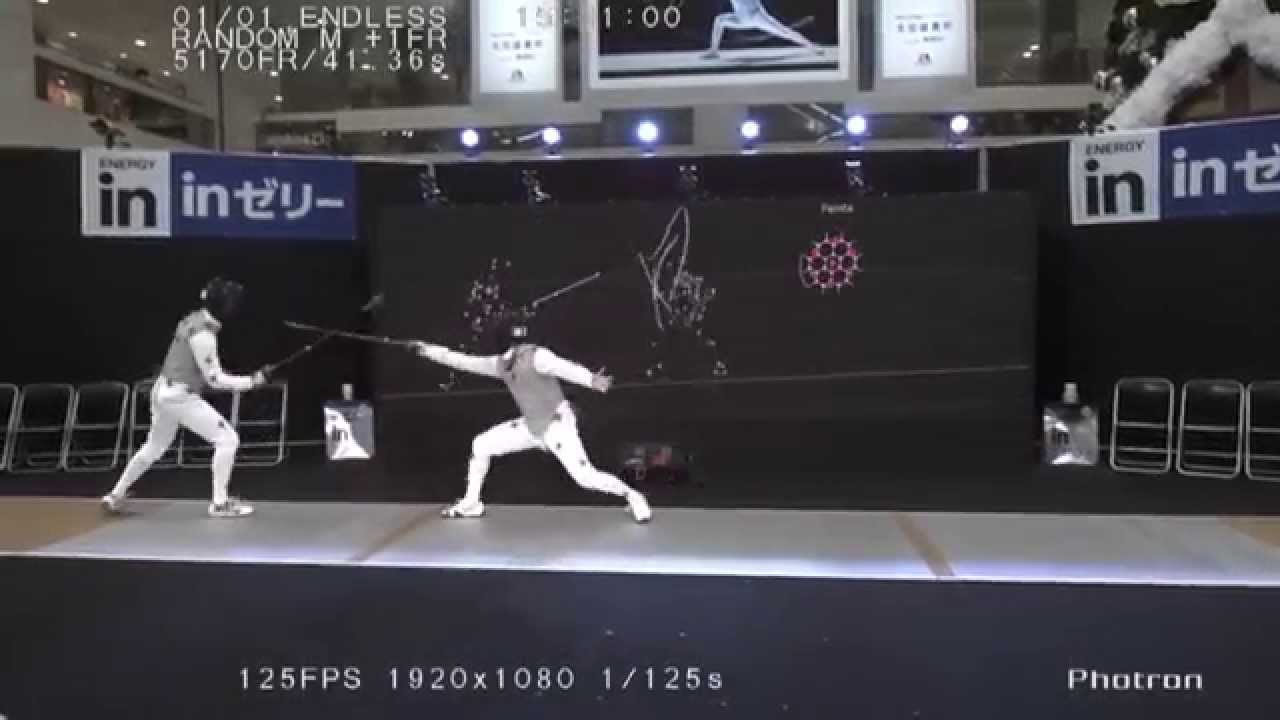 These crazy fencing videos beautifully visualize the complex