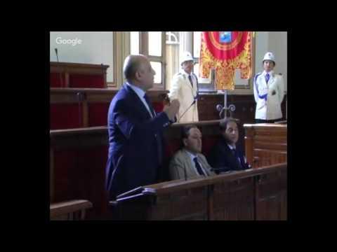 Consiglio comunale Reggio Calabria 26 settembre 2016