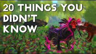 20 Tips, Tricks, and Things you Didn't Know About in ARK!