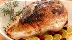 How To Make A Roasted Turkey Breast - Healthy Holiday Recipe