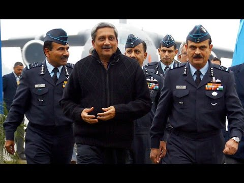Manohar Parrikar warns pakistan says Our Army of 1.3 million is not to 'preach peace'