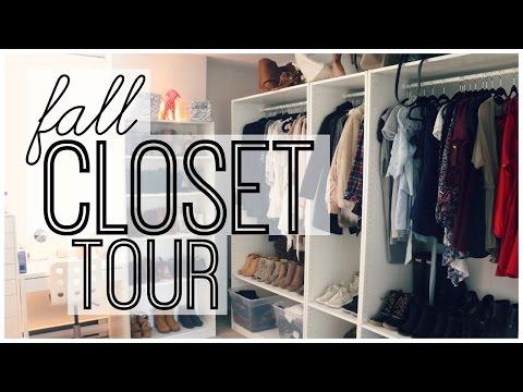 Fall Closet Tour | Kalyn Nicholson