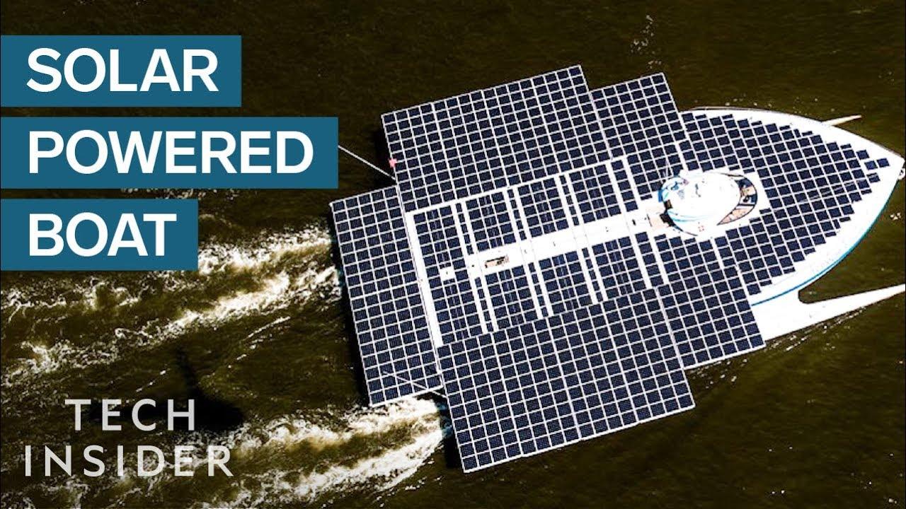 Sunpower Marine Flexible Solar Panels Sun Powered Yachts