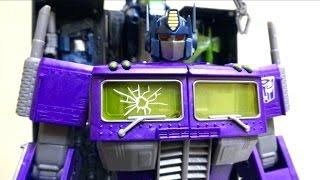 【善悪反転 悪のオプティマスプライム!】アジア限定 MP シャッタードグラス オプティマス プライム ヲタファのTFレビュー / Transformers SG MP Optimus Prime