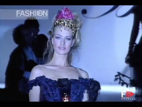 BLUMARINE Fall Winter 1992 1993 Milan - Fashion Channel