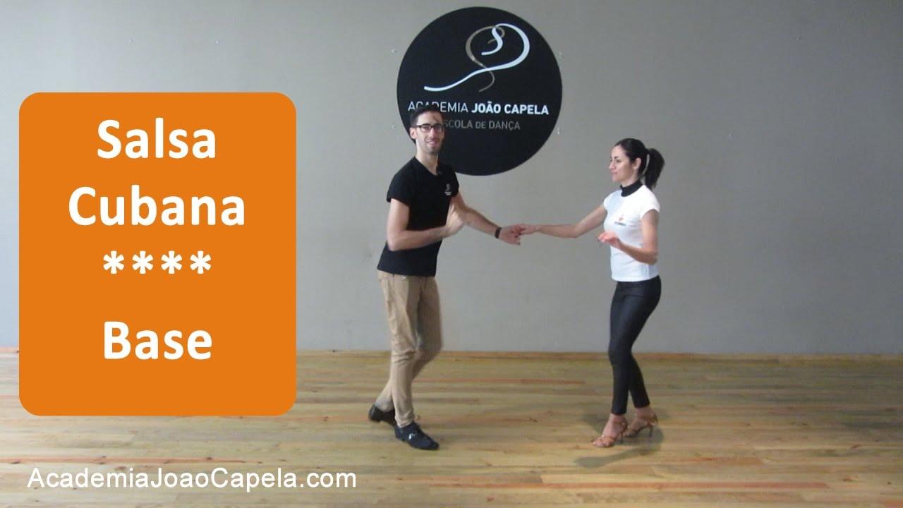Passos De Salsa Cubana Passo Básico Ep 15 Youtube