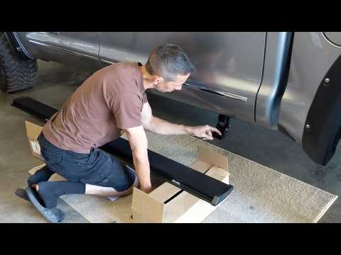 HOW TO INSTALL AMP RESEARCH RUNNING BOARDS ON A 2016 TOYOTA TUNDRA FULL INSTALL