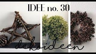Deko aus Naturmaterialien / Deko Ideen für Zimmer I Idee no. 30