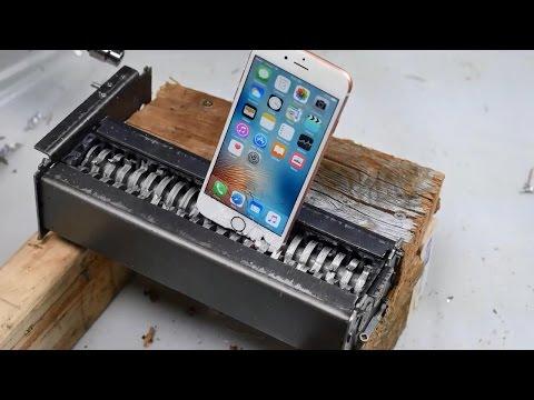 Самые безумные краш-тесты/Most insane crash tests. Samsung S6, S7, iPad, iPhone 6S, iPhone 6S Plus