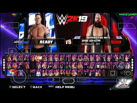 Cara Download Dan Install Game WWE 2K19 PPSSPP Android
