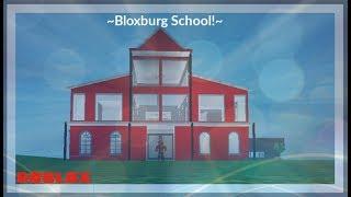 ~Small Bloxburg School!~ | Bloxburg Speedbuild | Roblox