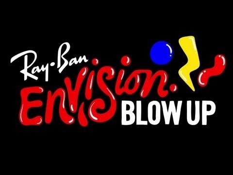Ray-Ban Envision Blow Up // London 19.09.13