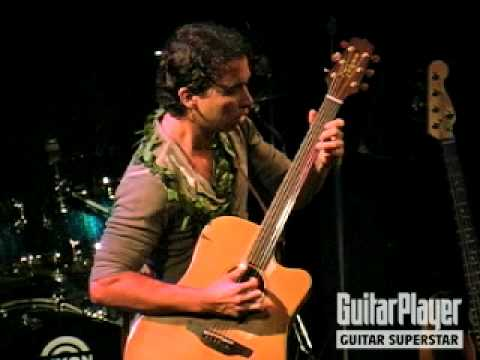 Makana Performs at Guitar Player's Guitar Superstar 2008