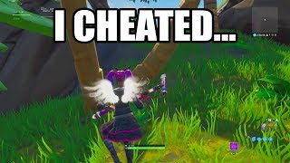 I CHEATED on this Default Deathrun in Fortnite Creative!