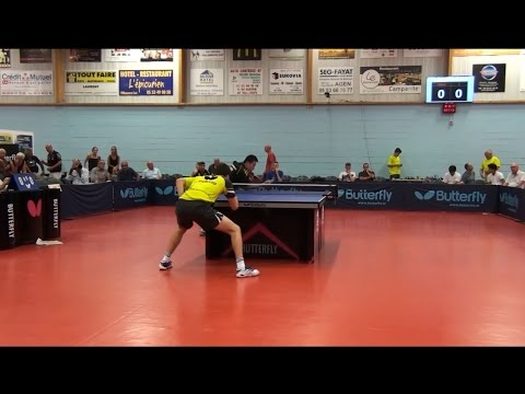 French League 2016/17 - Antoine Hachard Vs Chen Chien An - (Private Recording)