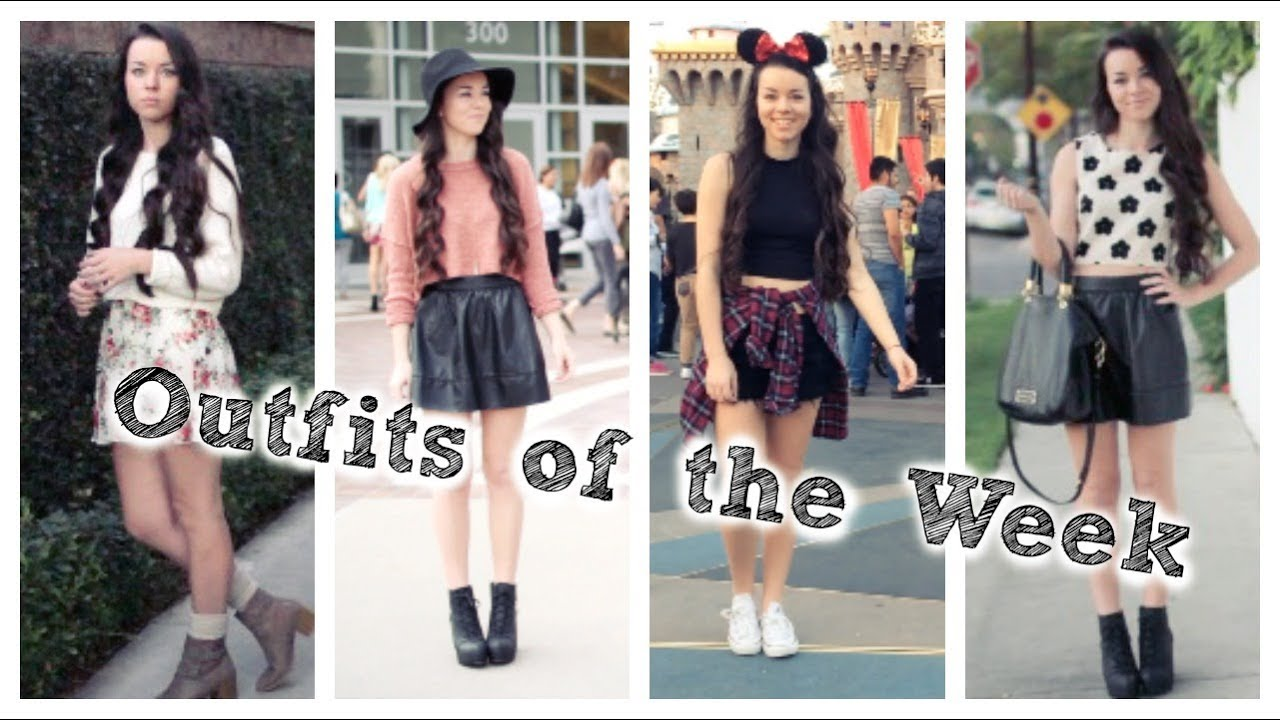 Outfits of the Week LA! - YouTube