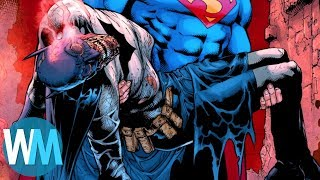 Top 10 Comic Characters Who Keep Dying